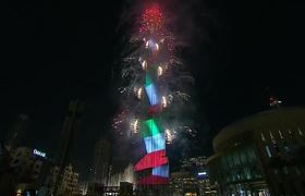 Dubai New Year 2020 Fireworks | Burj Khalifa New Year Eve 2020 Celebration