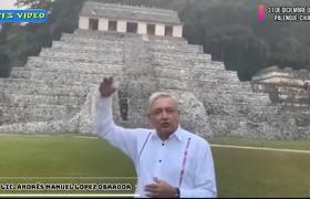 AMLO MANDA MENSAJE DE AÑO NUEVO 2020 DESDE PALENQUE