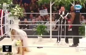 It ended in tragedy! Lana & Bobby Lashley's wedding failed on Monday Night RAW