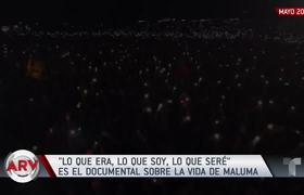 Maluma hizo un sueño realidad en 2019 con su documental