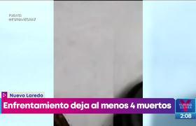 #AMLO habla sobre balacera en Nuevo Laredo