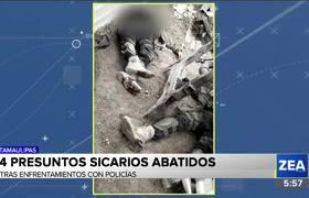 Inician el 2020 con balaceras en Tamaulipas. ¡Hay sicarios abatidos!