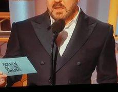 Ricky Gervais 2020 Golden Globes, Weinstein joke