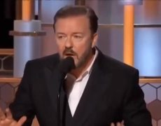 "Golden Globes 2020 - Ricky Gervais closes the show (""Take your drugs!!!"