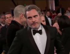 77th Golden Globes Awards 2020   WINNER: Joaquin Phoenix - Joker - best actor in a drama film