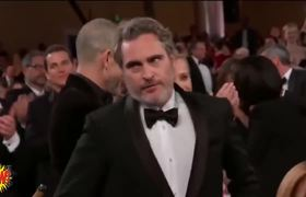 77th Golden Globes Awards 2020 | WINNER: Joaquin Phoenix - Joker - best actor in a drama film