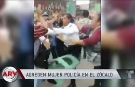 Video shows pitched battle between police and vendors in Mexico