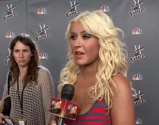 Christina Aguilera Is Back on The Voice