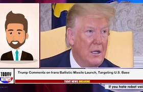 Donald Trump Comments on Iran's Ballistic Missile Launch, Targeting U.S. Base