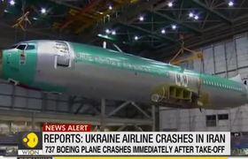 Breaking: Ukraine Airlines plane crashes in Iran