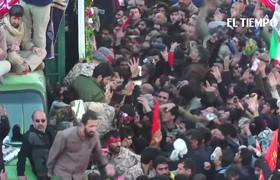 More than 30 dead in stampede during the funeral of Soleimani in Iran