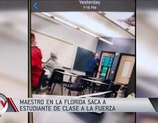 Teacher was jailed for taking a student out of class and forcibly