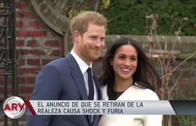 Príncipe Harry y Meghan Markle: Museo Madame separa sus figuras de la familia real