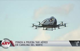 Test first drone-like air taxi
