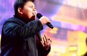 America's Got Talent: The Champions: Teenager Luke Islam Sings