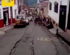 #viral: ¡Indignante!: Atleta colombiano patea a perro durante carrera y pierde patrocinio