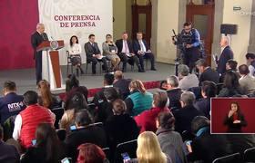 """""""Eso sí calienta"""": #AMLO a Jorge Ramos en la mañanera al responder sobre la violencia"""