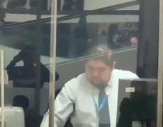 Asaltan a diputado de MORENA tras salir de banco BBVA Bancomer en Azcapotzalco