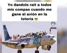 #AMLO desata memes al considerar rifar el avión presidencial
