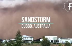 #VIRAL: Sandstorm in Dubbo, Australia