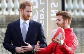 Prince Harry reappears in public after his departure from royalty