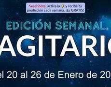 Weekly Horoscope - Sagittarius - January 20-26, 2020