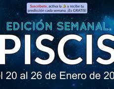 Weekly Horoscope - Pisces - January 20-26, 2020