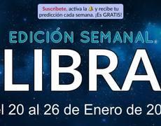 Weekly Horoscope - Libra - January 20-26, 2020