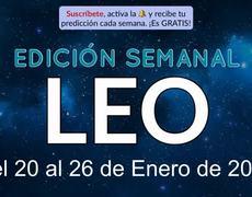 Weekly Horoscope - Leo - January 20-26, 2020