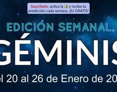 Weekly Horoscope - Gemini - January 20-26, 2020