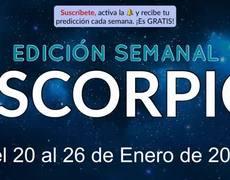 Weekly Horoscope - Scorpio - January 20-26, 2020