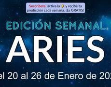 Weekly Horoscope - Aries - January 20-26, 2020