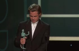 SAG Awards 2020 Brad Pitt: Award Acceptance Speech