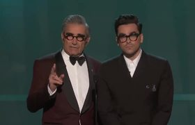 Eugene and Dan Levy: Opening Monologue | SAG Awards 2020