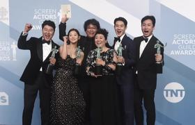 Parasite makes history at SAG Awards 2020