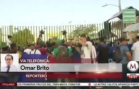 Mexico denies request to migrant caravan to enter the country