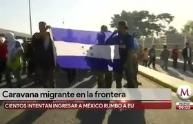 Migrants send letter to AMLO asking permission to enter Mexico