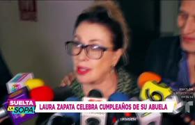 Thalía no fue al cumpleaños de su abuela, pero mira cómo la sorprendió
