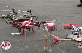 Create drones made of garbage that will help protect the environment