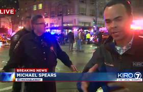 #VIDEO: - Downtown Seattle shooting: Multiple victims injured; search underway for suspect