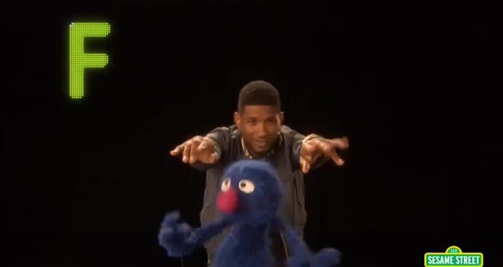 Sesame Street Usher Sings Hip Hop Abc Song With Muppets Videos Metatube