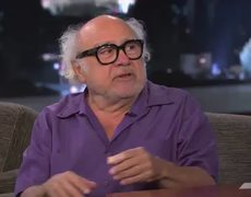 Danny DeVito Interview on Jimmy Kimmel PART 1 1012013