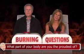 The Ellen Show: Will Ferrell Answers Jennifer Aniston's 'Burning Questions'