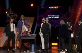 Cage The Elephant Wins Best Rock Album | 2020 GRAMMYs Acceptance Speech
