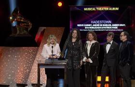 Hadestown Wins Best Musical Theater Album | 2020 GRAMMYs Acceptance Speech