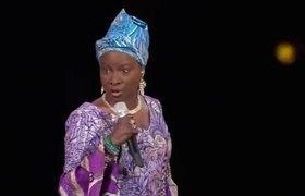 "Angelique Kidjo performing ""Afirika"