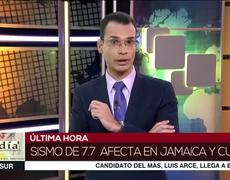 Magnitude 7.7 earthquake shakes Cuba and Jamaica