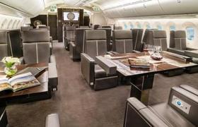 Revelan cómo es el interior del millonario avión presidencial mexicano que se está rifando