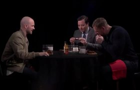 The Tonight Show: J.J. Watt & Jimmy Get Their Feelings Hurt While Eating Spicy Wings w/ Sean Evans (Hot Ones)