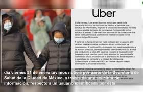 Uber Mexico deactivates accounts for possible case of coronavirus